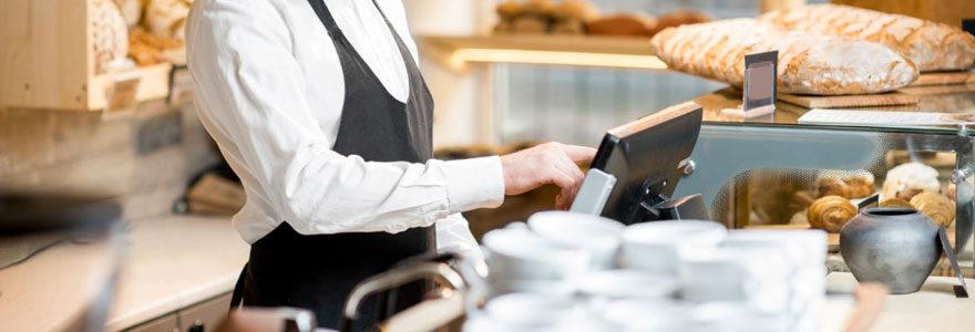 Caisse enregistreuse pour boulangerie